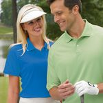 Custom Ladies Willow Pointe Willowtec Vented Mesh Golf Shirt - Closeout