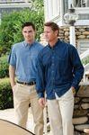 Custom Jonathan Corey Classic Denim Short Sleeve Shirt
