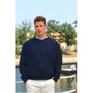 Inner Harbor Ultra-Soft Sueded Microfiber Wind Shirt-Closeout