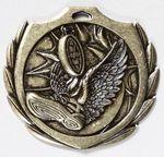 Custom Track Burst Medal - 2 1/4