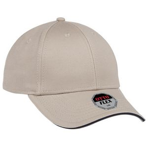 Custom Embroidered Flex Cap With Sandwich Visor