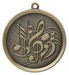 Custom Music Mega Medal - 2-1/4