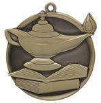 Custom Knowledge Mega Medal - 2-1/4