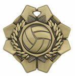 Custom Volleyball Imperial Medal