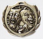 Custom Drama Burst Medal - 2 1/4