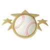 Custom Baseball - Star Sport - Plaque Mount - 2-1/2
