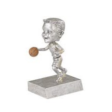 "Male Basketball Rock-n-Bop Bobble Head (5 1/2"")"