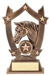 Custom Sport Stars Resins Horse Award - 6 1/4
