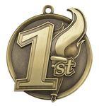 Custom 1st Mega Medal - 2-1/4