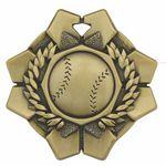 Custom Baseball Imperial Medal
