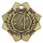 Custom Math Imperial Medal