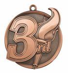 Custom 3rd Mega Medal - 2-1/4
