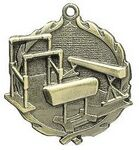 Custom Medal, Gymnastics- 1 3/4