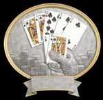 Custom Texas Hold'em, Oval Legend Plates - 8