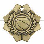 Custom Basketball Imperial Medal
