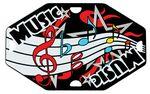 Custom Street Tags - Music