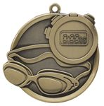 Custom Swimming Mega Medal - 2-1/4