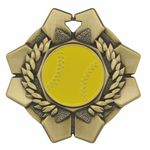 Custom Softball Imperial Medal