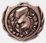 Custom 3rd Burst Medal - 2 1/4