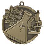 Custom Science Mega Medal - 2-1/4