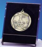 Custom Medal or Medallion Presentation Box - Holds 2-1/4