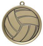 Custom Volleyball Mega Medal - 2-1/4