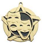 Custom Super Star Medal - Drama - 2-1/4