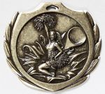 Custom Cheer Burst Medal - 2 1/4