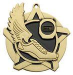 Custom Super Star Medal -Track - 2-1/4