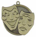 Custom Drama Mega Medal - 2-1/4