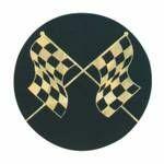 Custom Black / Gold Hologram Mylar Insert - 2