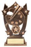 Custom Sport Stars Resins Art Award - 6 1/4