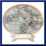 Custom Chopper - Oval Legend Plates - 8