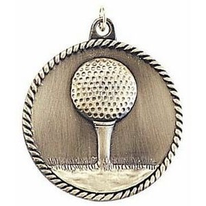 "Medals, ""Golf"" - 2"" High Relief"
