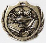Custom Knowledge Burst Medal - 2 1/4