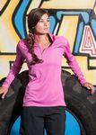 Custom Women's Boston Syntrel Interlock ¼-Zip Pullover Shirt