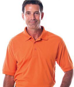 Mens Newport Syntrel Mesh Knit Polo Shirt