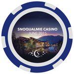 Custom 6-Stripe Poker Chips (9 Colors) Fast Turn 3-5 Days! No Minimums (2 Side Imprint)