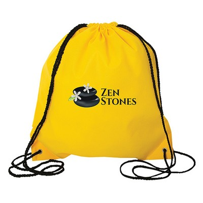 Jumbo Non Woven Drawstring Backpack