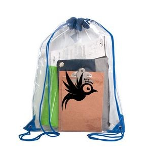 Stadium Clear Drawstring Bag