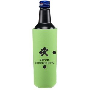 16 oz. Tall Bottle Cooler - Two Sided Imprint