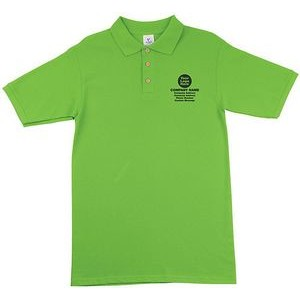 100% Cotton Polo Shirt (Embroidered)