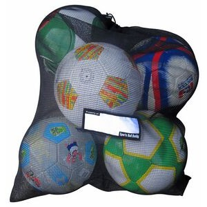 Sports Ball & Gear Bag (Holds 5-6 Balls)