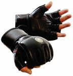 Custom MMA Grappling Gloves (Leather)