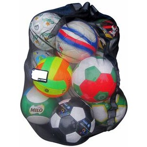 Sports Ball & Gear Bag (Holds 15-18 Balls)