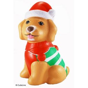 CutieLine Slow Rising Scented Christmas Puppy Squishy