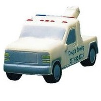 Transportation Series 2 Tone Tow Truck Stress Reliever