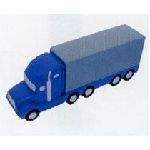 Semi Truck w/ Flat Side Transportation Series Stress Toys