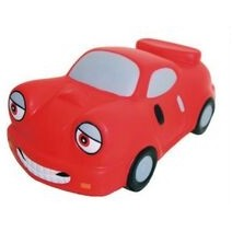 Transportation Series Happy Face Car Stress Reliever