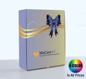 Full Color Presentation, Gift or Shipping Box & Glossy Laminate Finish